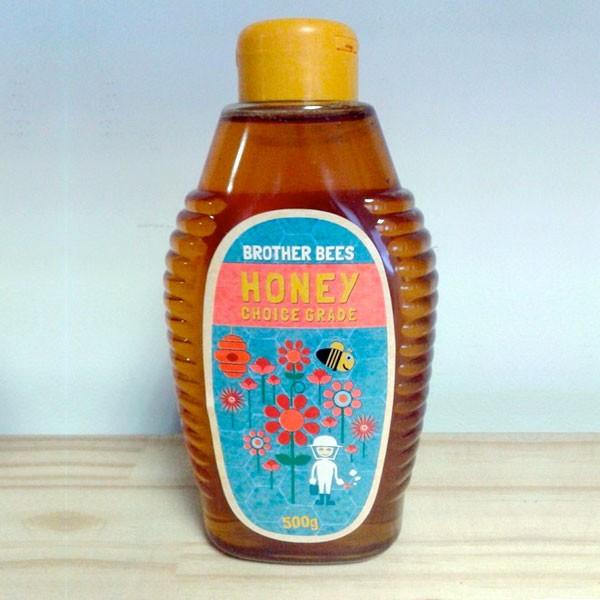 Honey 500g Squeeze Bottle